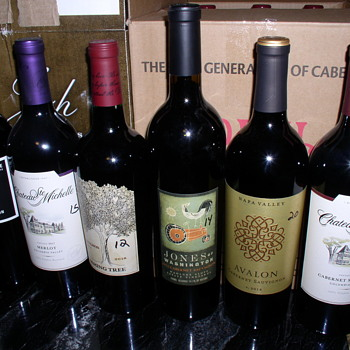February RED Wine Ship Came In Today  ..  No PORT , Cabernet  - Bottles