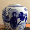 Blue and White Japanese Vase