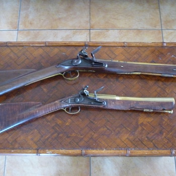 Brass barreled blunderbuss's - Military and Wartime