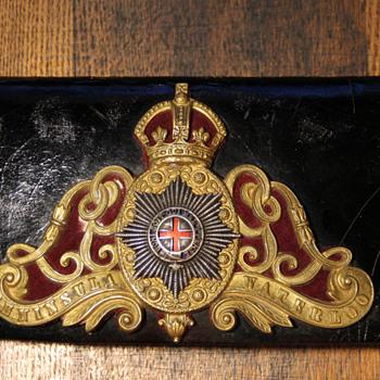 Belt box Peninsula Waterloo  - Military and Wartime