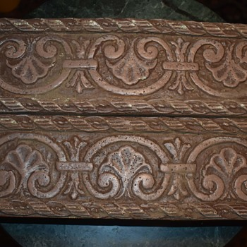 Two Large Tiles - 12 inches by 4 inches - Pottery