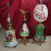 Gone with the Wind Lamps & Ewer