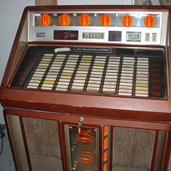 my ROWE/AMI jukebox  - Coin Operated