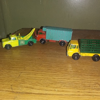 Matchbox Monday: Triple Feature - Model Cars