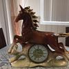 Jema Holland Large mantle Horse Clock (475)