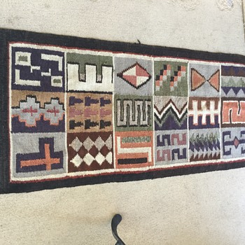 Antique Mexican Rug - Rugs and Textiles