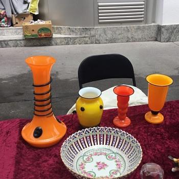 Tango vases in Vienna - Art Glass