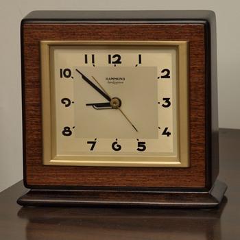 "Hammond Wood Clock: The ""Cavalier"""