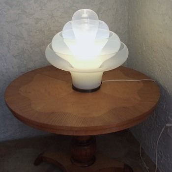 Italian inverted mushroom lamp - Lamps
