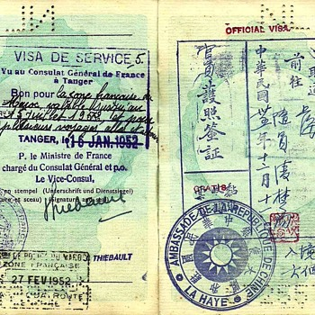1946 Dutch service passport