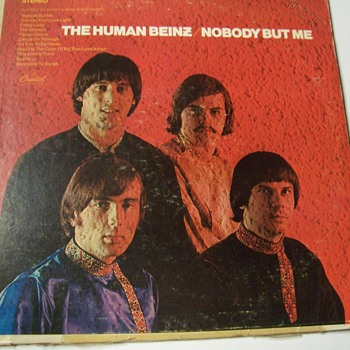 "Human Beinz ""NOBODY BUT ME"" signed album - Records"