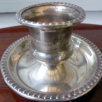 1940's Mueck-Cary Sterling Silver Toothpick Urn  - Silver