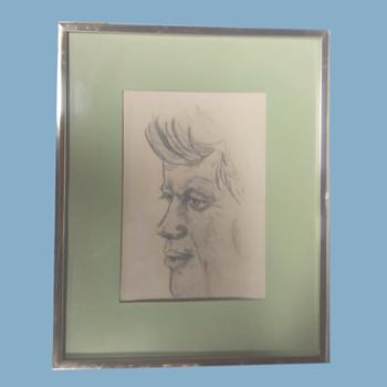 sketching of JFK