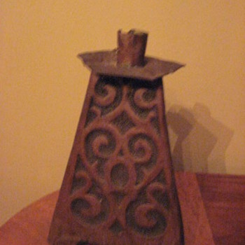 Unique candlestick holder - Arts and Crafts
