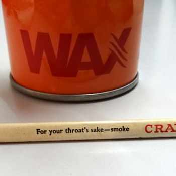 Craven A pencil - for your throat's sake...Photo added - Office