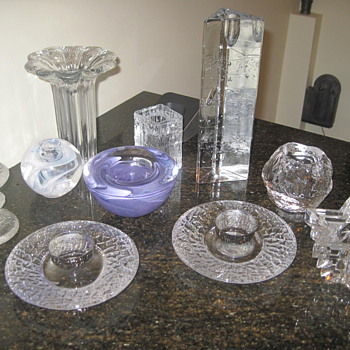 Bonanza of Scandinavian!! - Art Glass
