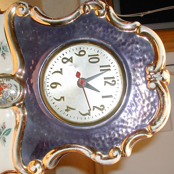 Lamp clock set