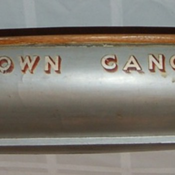 'One-of-a-kind' salesman sample canoe model, Old Town Canoe Co. 1940's - Advertising