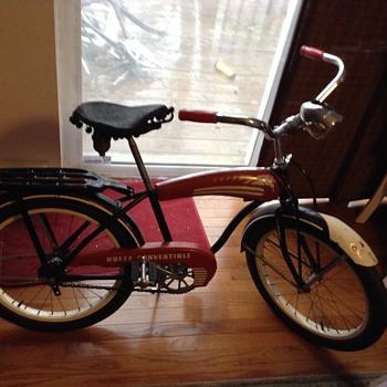 """My little 1966 convertible Ross"""" bike"""