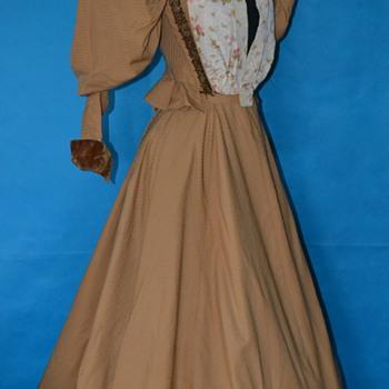 Exquisite Belle Epoque 1890's dress!