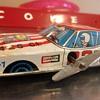 1970's Rare Coca Cola racing wind-up car