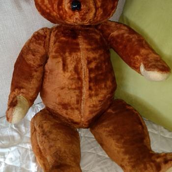 My childhood teddy bear ca 1953 - Dolls