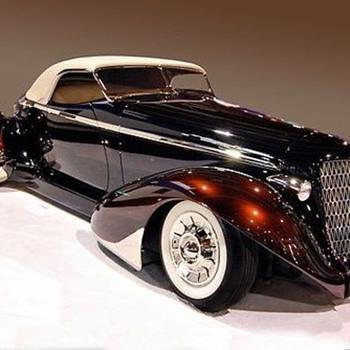 1936 Auburn Roadster,  1947  Bentley MK.VI.