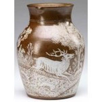 Charles Graham Salt Stoneware Acid - Pottery