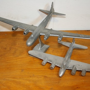 Cast Aluminum Boeing Bombers- Corporate Castings 1/72 scale - Toys