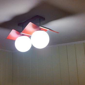 Red Retro Lamp - Lamps