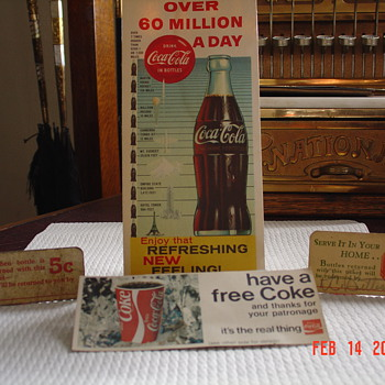 Coca Cola Paper Collectibles - Coca-Cola
