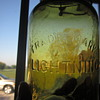 Early Green Lightning Putnam Fruit Jar