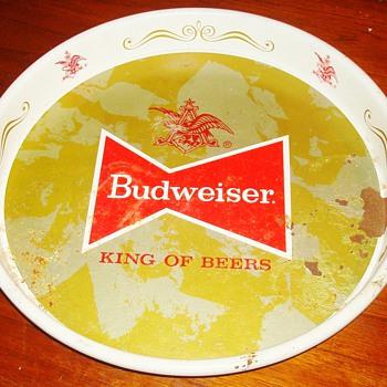 Budweiser Tray - Breweriana