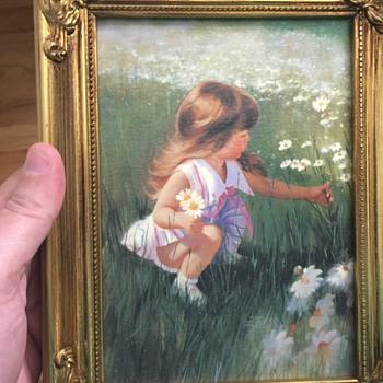 Cute Donald Zolan Painting transfer - Fine Art