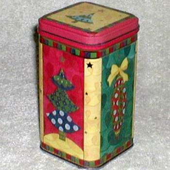 Christmas Biscuit Tin - small - Christmas