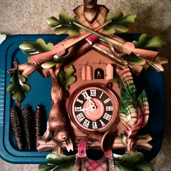 Early 1950's Cuckoo Clock from Germany - Clocks