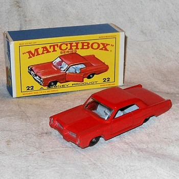 March Marching to Matchbox Monday MB-22 Pontia Grand Prix Sports Coupe - Model Cars