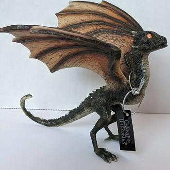 Game of Thrones Baby Dragon Sculptures - Animals