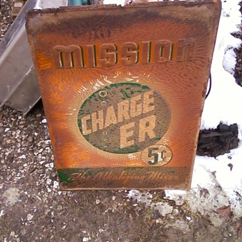 Mission CHARGE ER The Alkalizing Mixer - Signs
