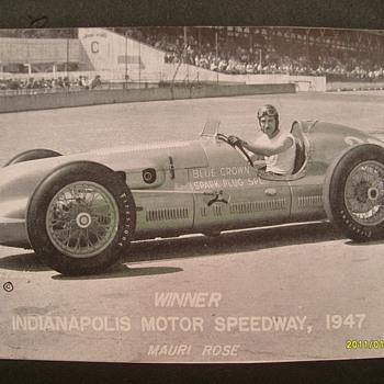 1947 Indy 500 Winner - Photographs