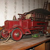1920's toy  fire engine
