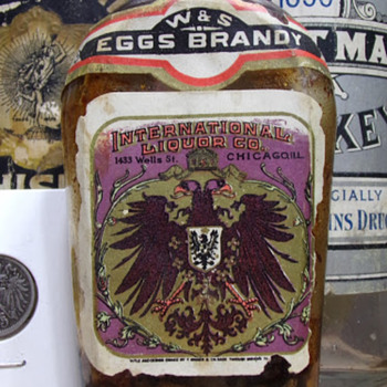 Pre-Prohibition Brandy, Labeled - Bottles