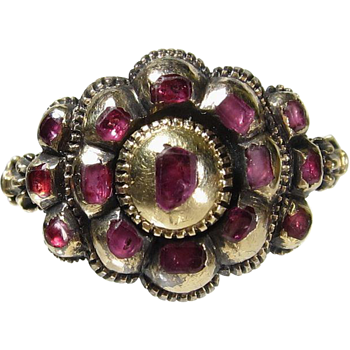 Mysterious Antique Gold Ring With Rubies