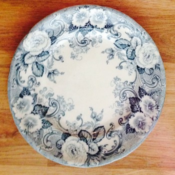 John Lennon's Davenport china plate-1964 - Music Memorabilia