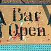 What is this sign?  Bar Open