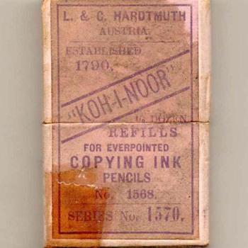 """Hardtmuth """"KOH-I-NOOR"""" Lead Refills"""