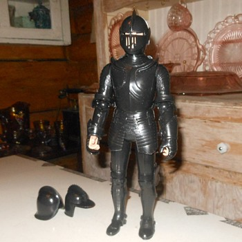 Marx Sir Cedric the Black Knight Unboxing Continued - Toys