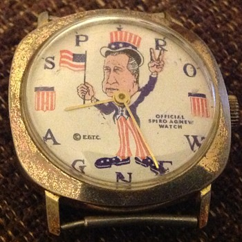 My Spiro T Agnew watch