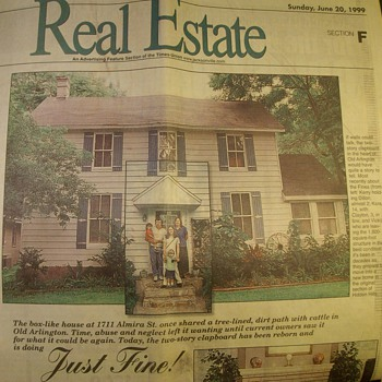 114 Year Old House I Remodeled in 1998 & 1999 - Advertising