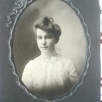 1900 Cabinet Cards  - Photographs